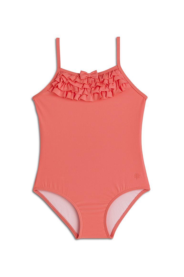 Girl's Ruffle Swimsuit UPF 50+