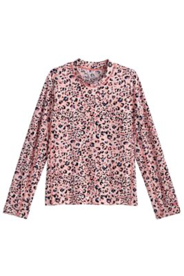 Girl's Sandshark Long Sleeve Surf Shirt UPF 50+