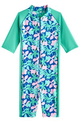 Girl's Barracuda Neck-to-Knee Surf Suit UPF 50+
