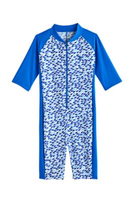 Boy's Barracuda Neck-to-Knee Surf Suit UPF 50+