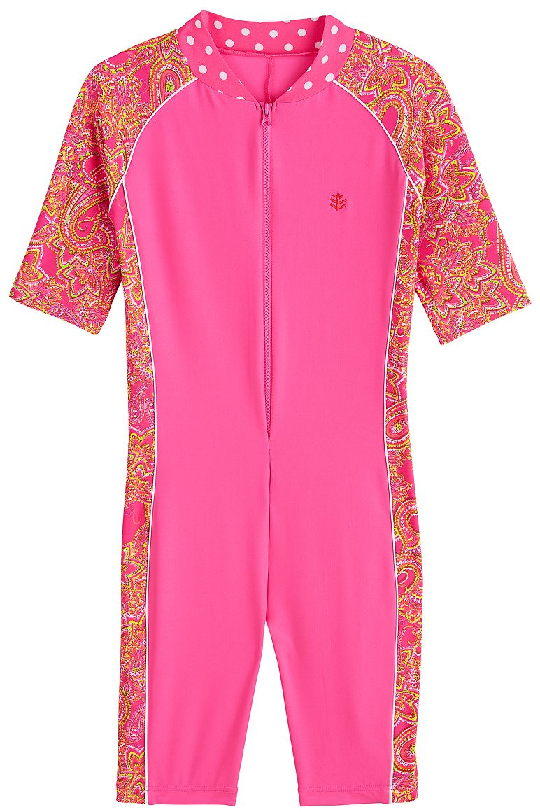 Girl's Neck-to-Knee Surf Suit