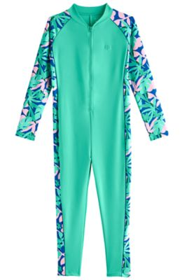 Girl's Barracuda Neck-to-Ankle Surf Suit UPF 50+