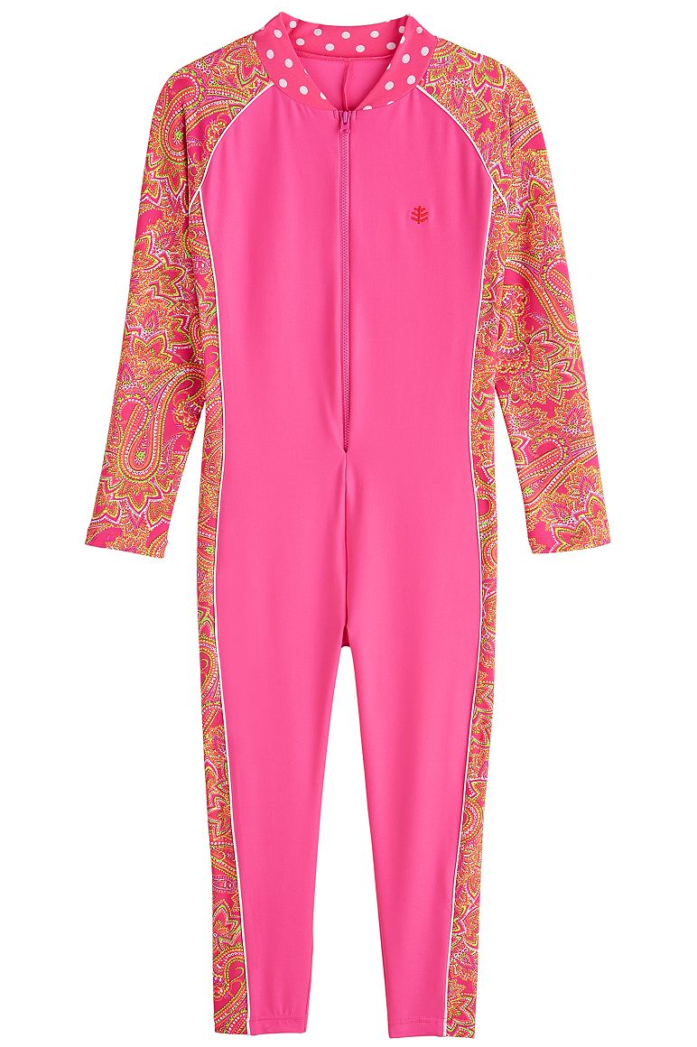 Kid's Neck-To-Ankle Surf Suit UPF 50+
