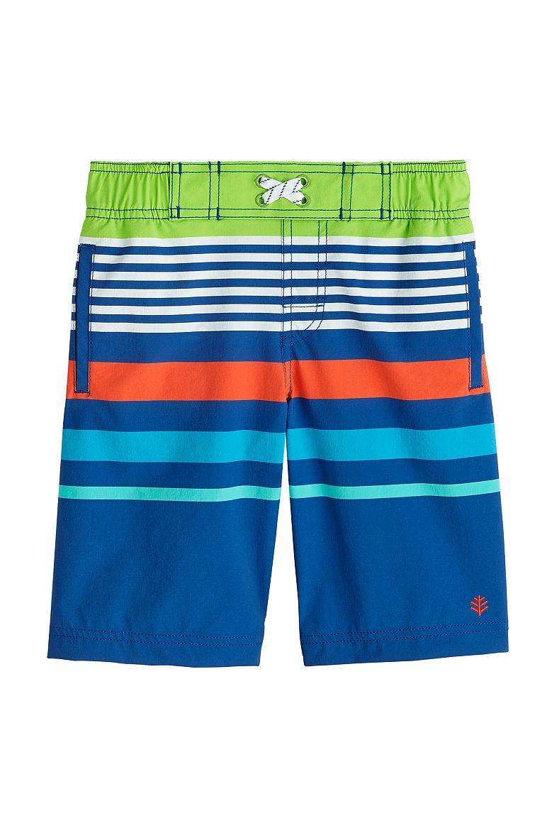 Boy's Island Swim Trunks UPF 50+