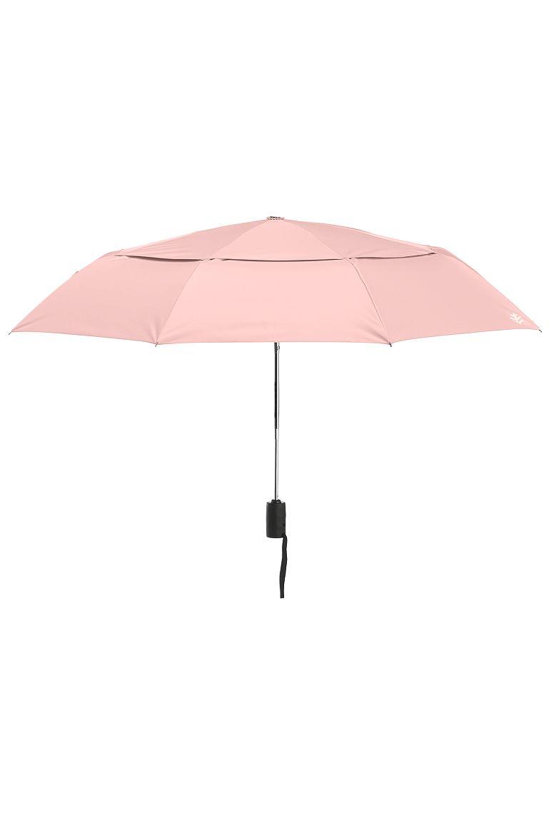 Titanium Travel Umbrella Light Rose OS Solid