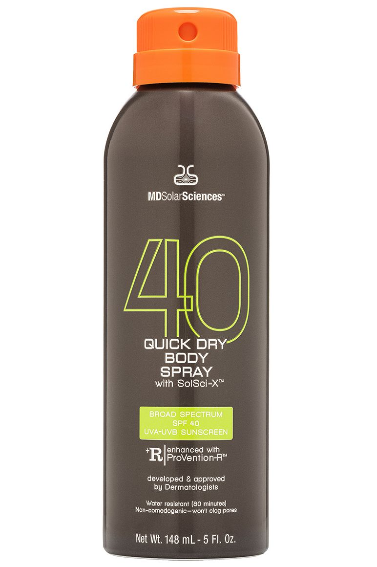 MDSolarSciences Quick Dry Body Spray SPF 40 5 oz