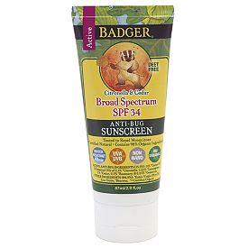 Sunscreen - Badger