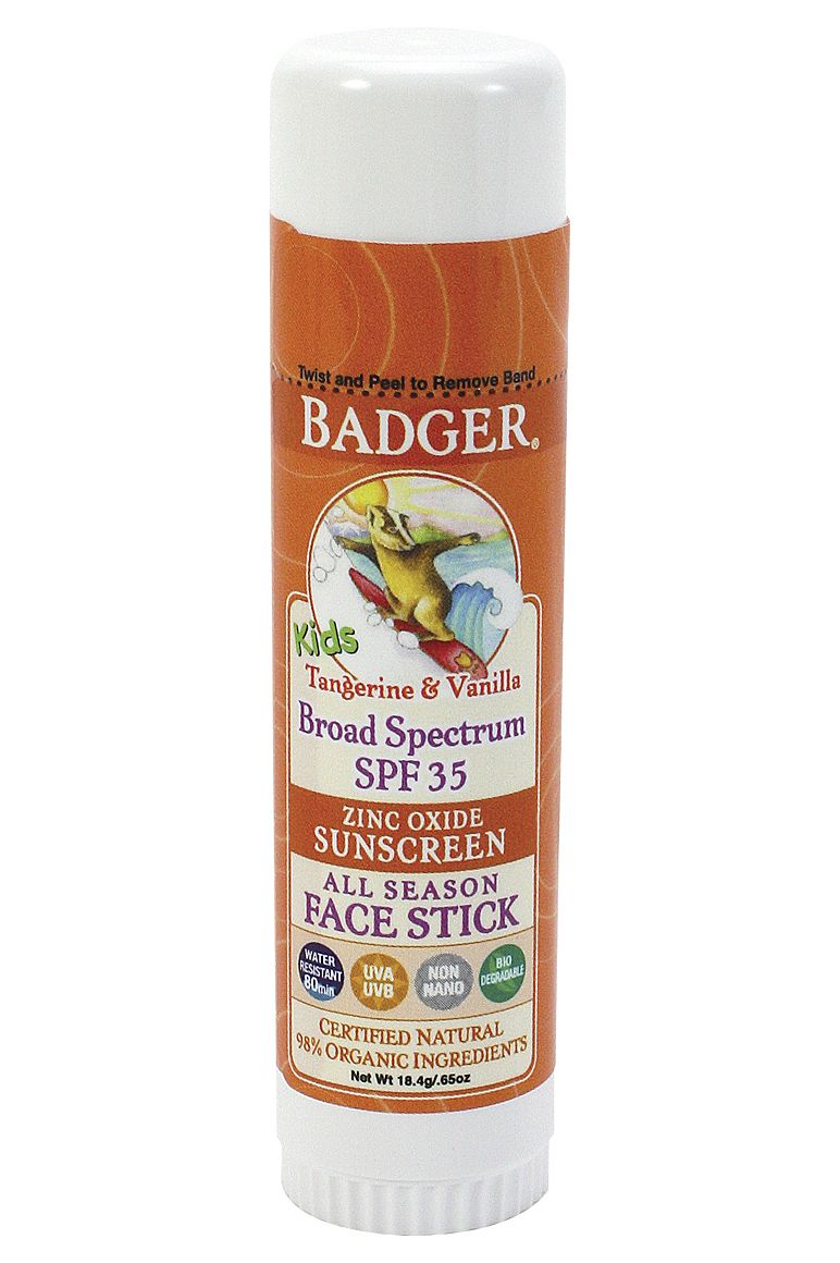 Badger SPF 35 Kid's Sport Face Stick