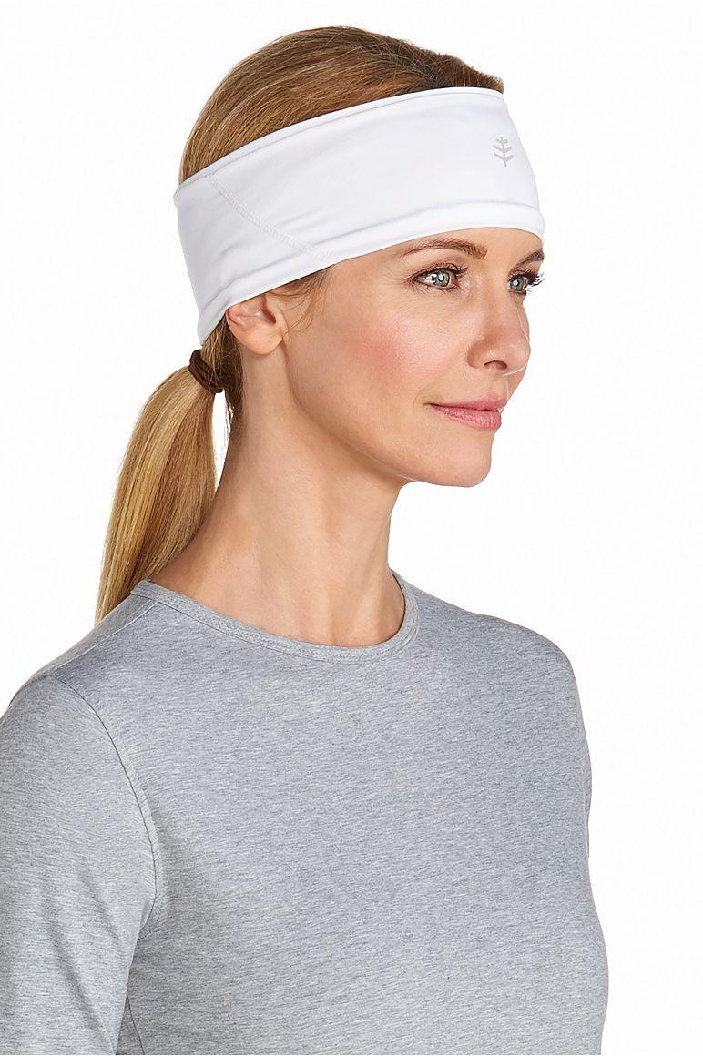d514b0826a7 UV Headband  Sun Protective Clothing - Coolibar