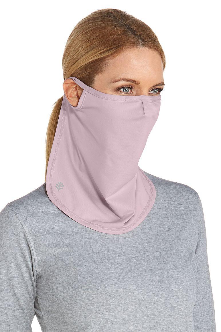 UV Face Mask Dusty Mauve L/XL Solid