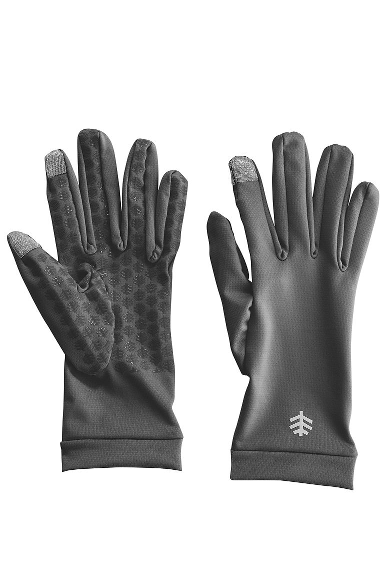UV Gloves Charcoal XL Solid