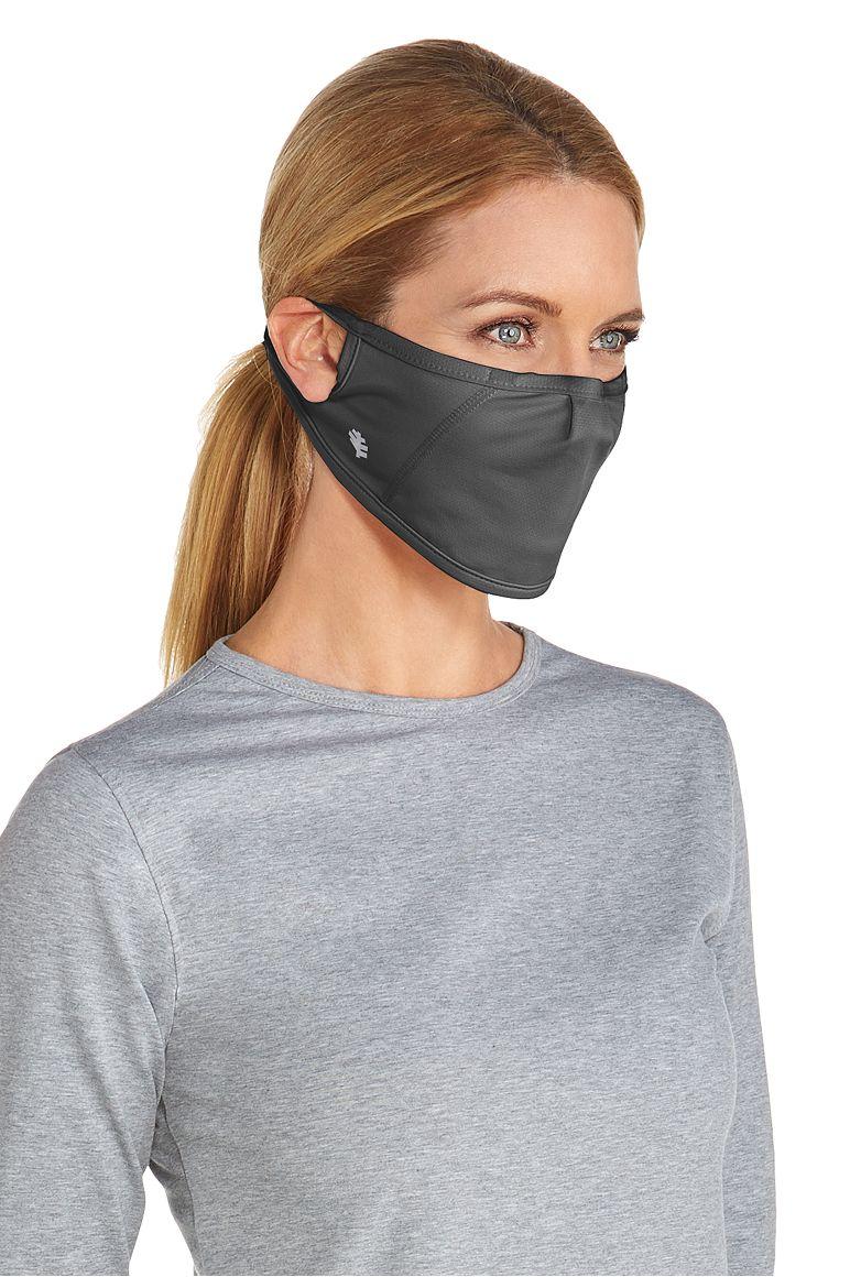 UV Mask Charcoal L/XL Solid