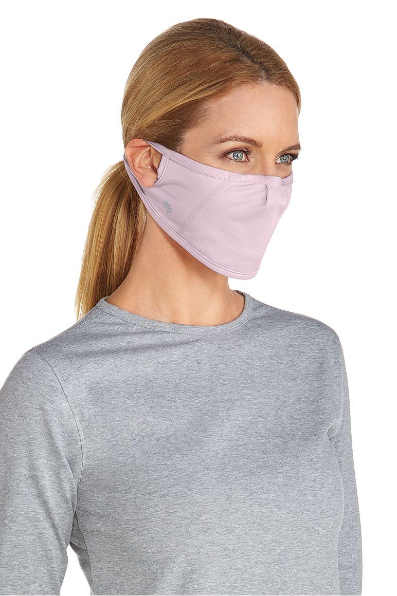 UV Mask Dusty Mauve L/XL Solid