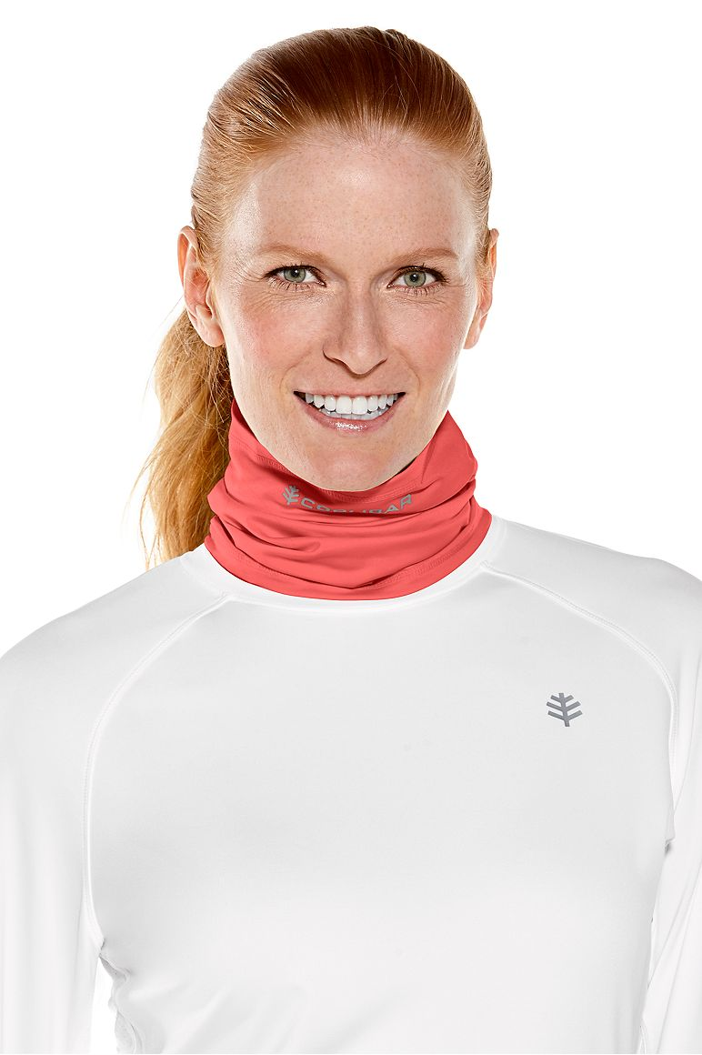 Performance Sun Gaiter Rosy Coral L/XL Solid