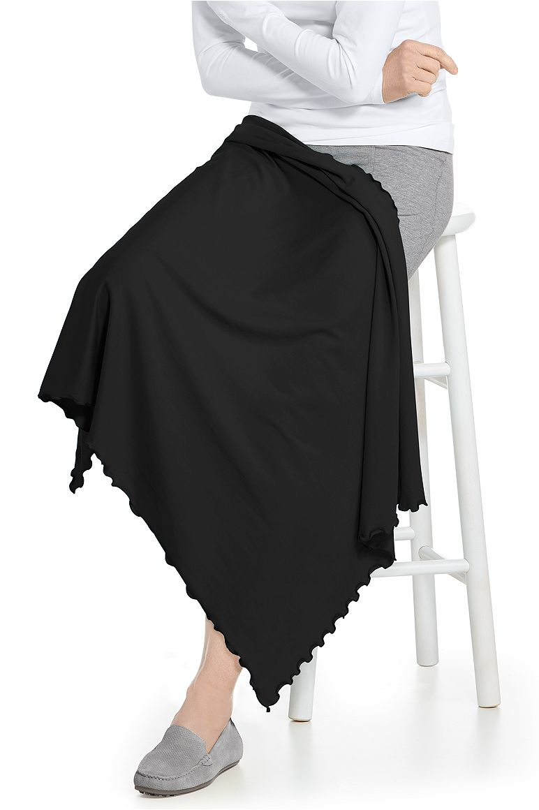 Sun Blanket Black OS Solid