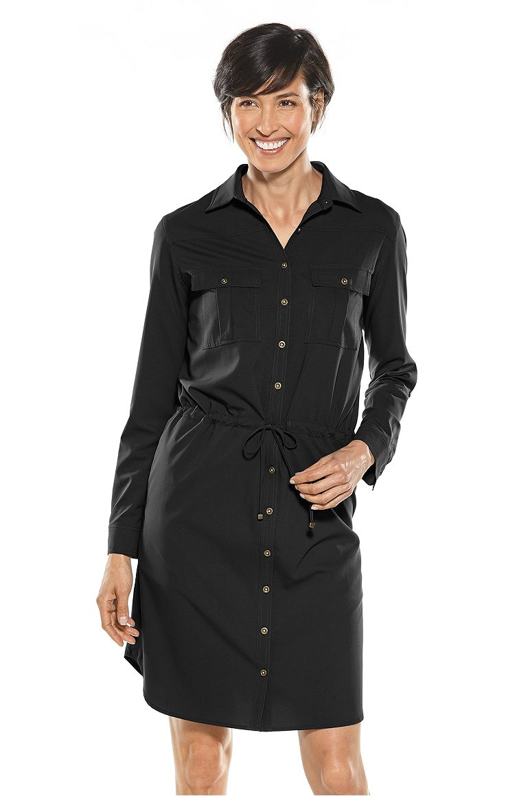 Women's Travel Shirt Dress UPF 50+