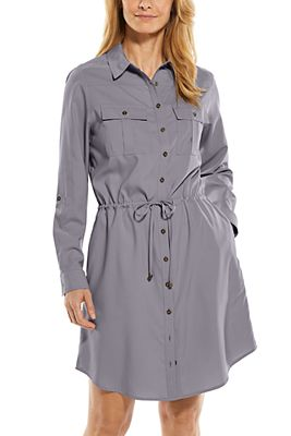 Women's Napa Travel Shirt Dress UPF 50+