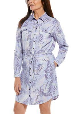 Women's Napa Travel Shirt Dress UPF 50+
