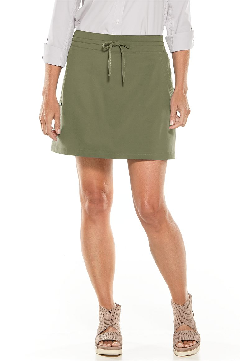 Womens Travel Skort UPF 50+