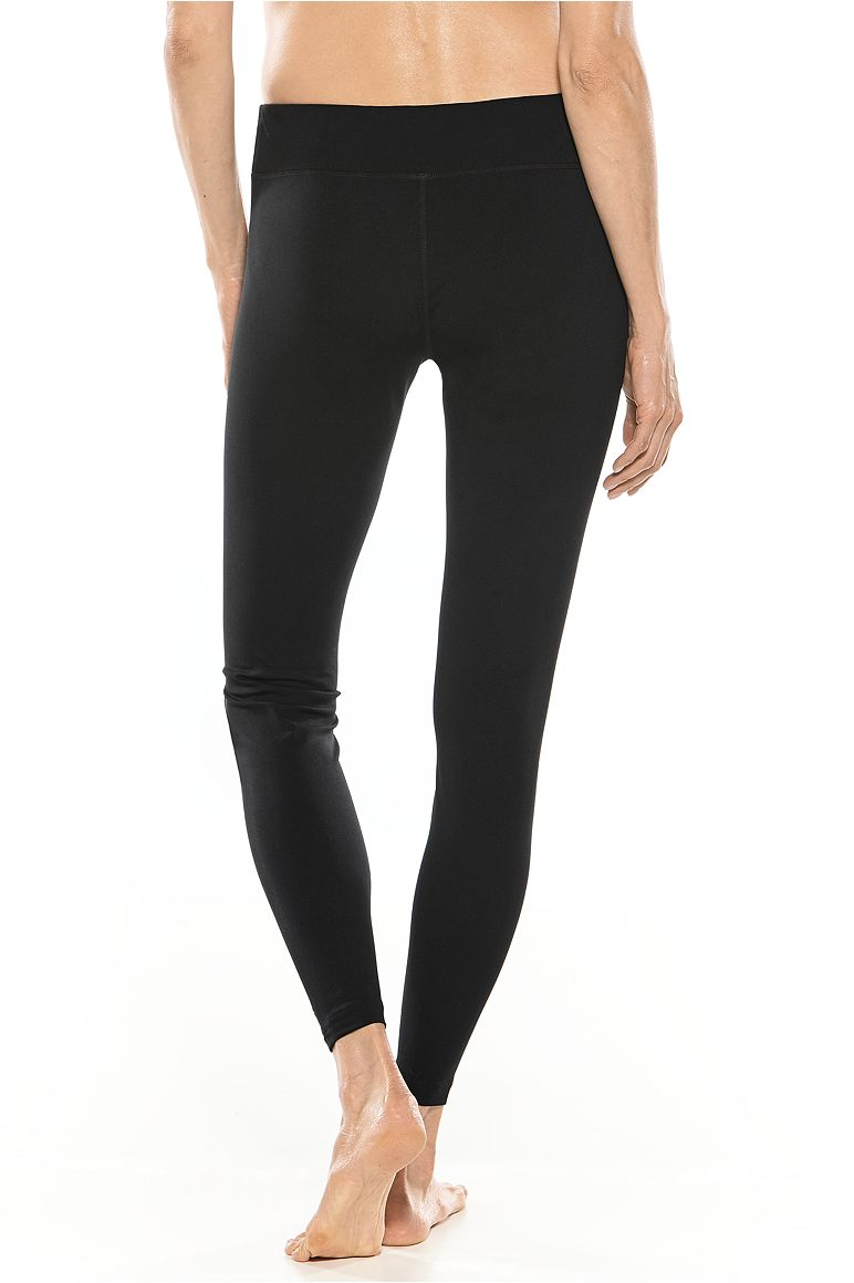 Women's Mid-Rise Swim Tights UPF 50+