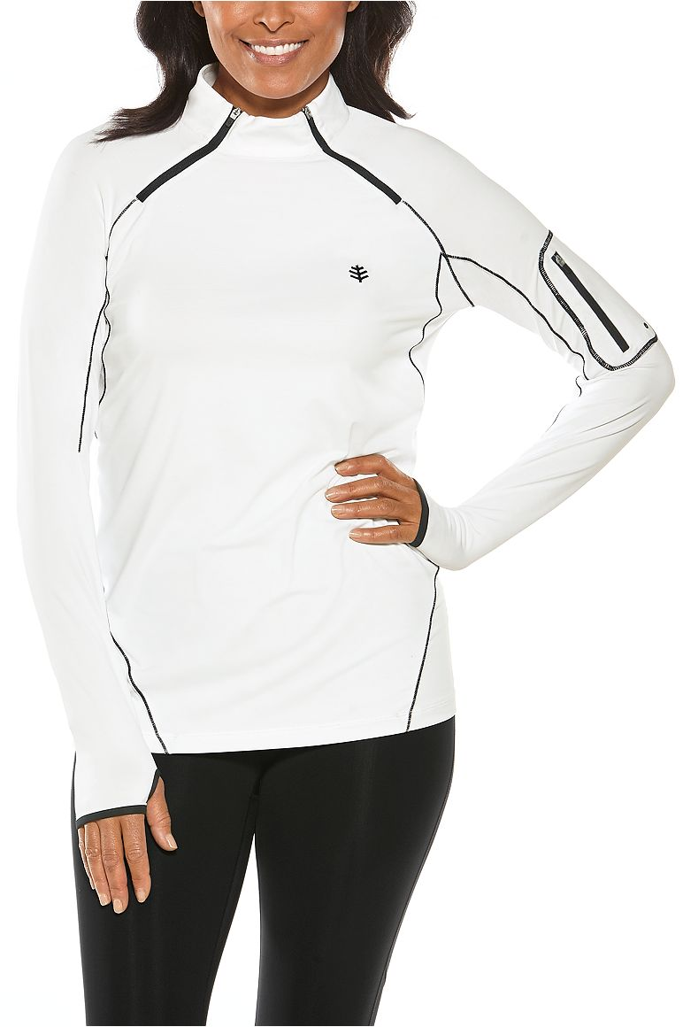Women's Quick-Zip Rash Guard UPF 50+