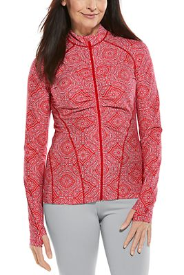 Women's Atitlan Ruche Swim Jacket UPF 50+