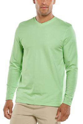 Men's Morada Everyday Long Sleeve V-Neck T-Shirt UPF 50+