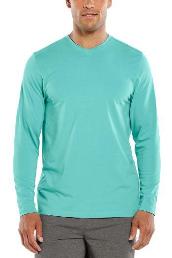 Morada Everyday Long Sleeve V-Neck T-Shirt