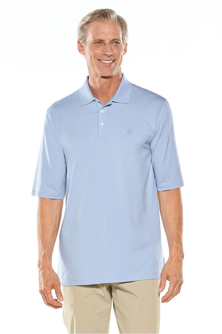 Men's Short Sleeve Polo Shirt UPF 50+