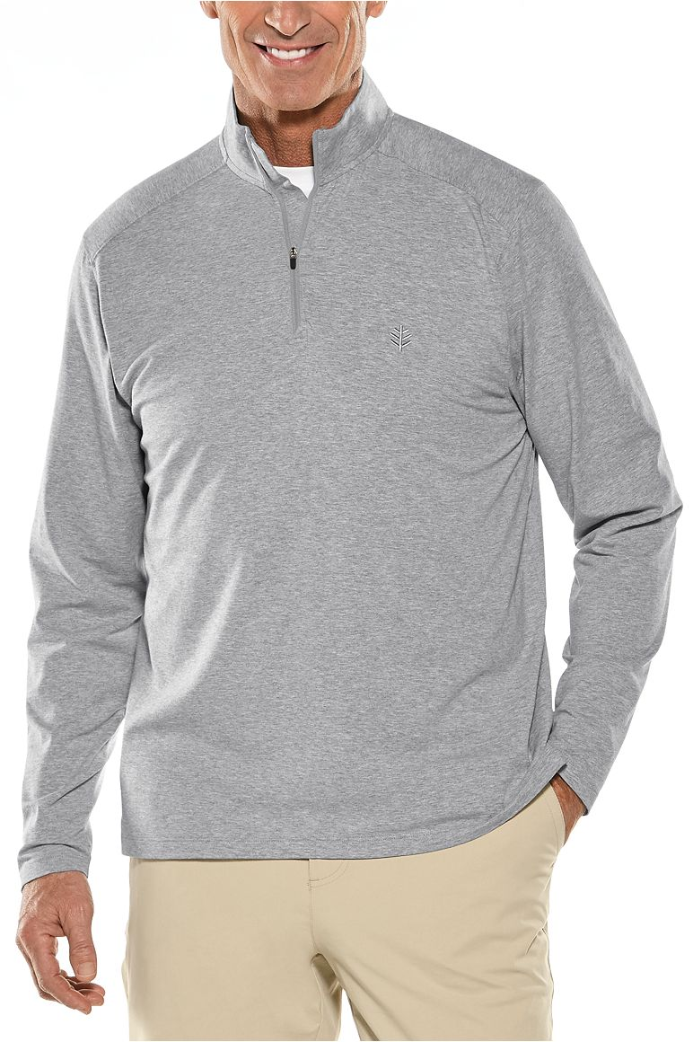 Men's Quarter-Zip UPF 50+