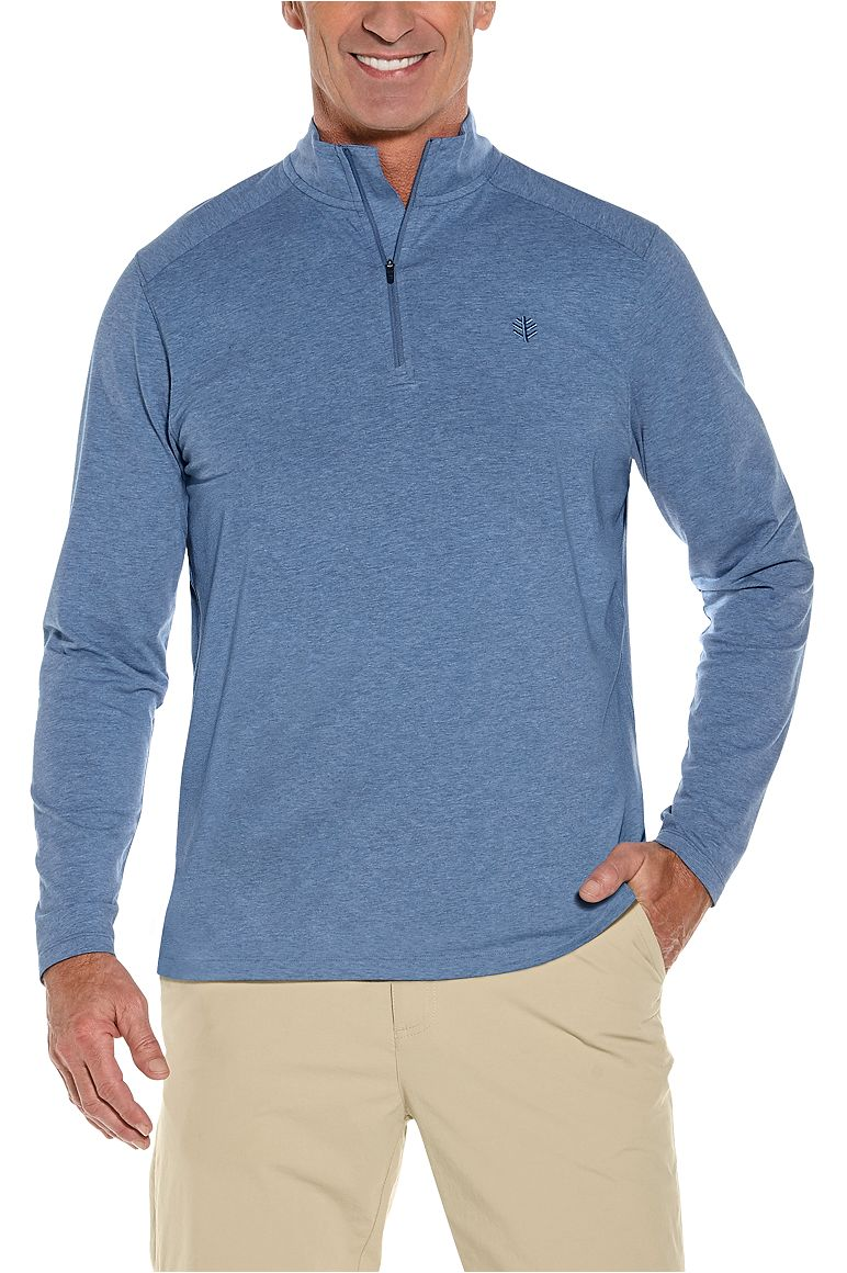 Men's Sonora Quarter-Zip UPF 50+