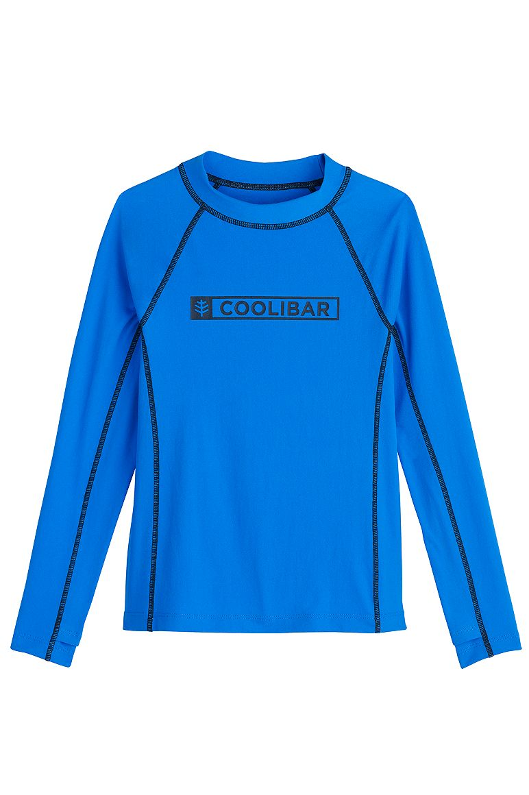 Boy's Logo Surf Rash Guard
