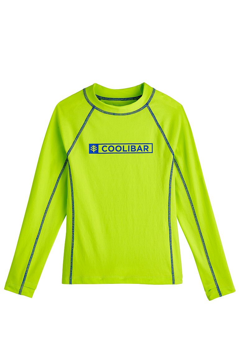 Boy's Logo Surf Rash Guard UPF 50+