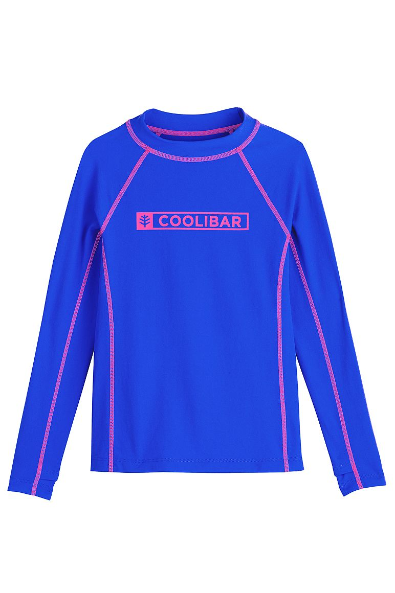 Girl's Logo Surf Rash Guard UPF 50+