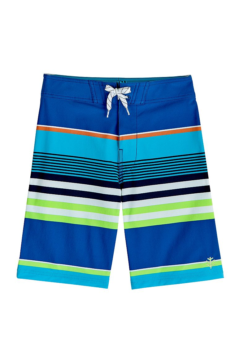 Boy's Beach Board Shorts UPF 50+