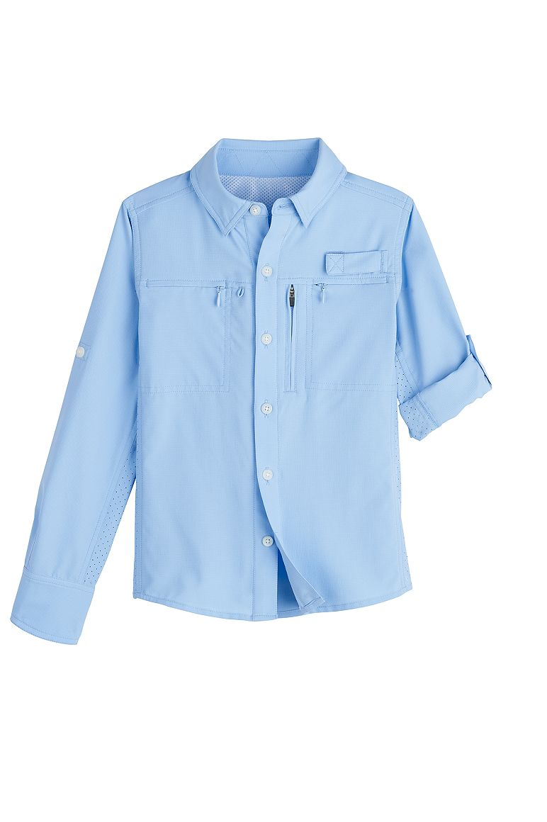 Boy's Fishing Shirt UPF 50+