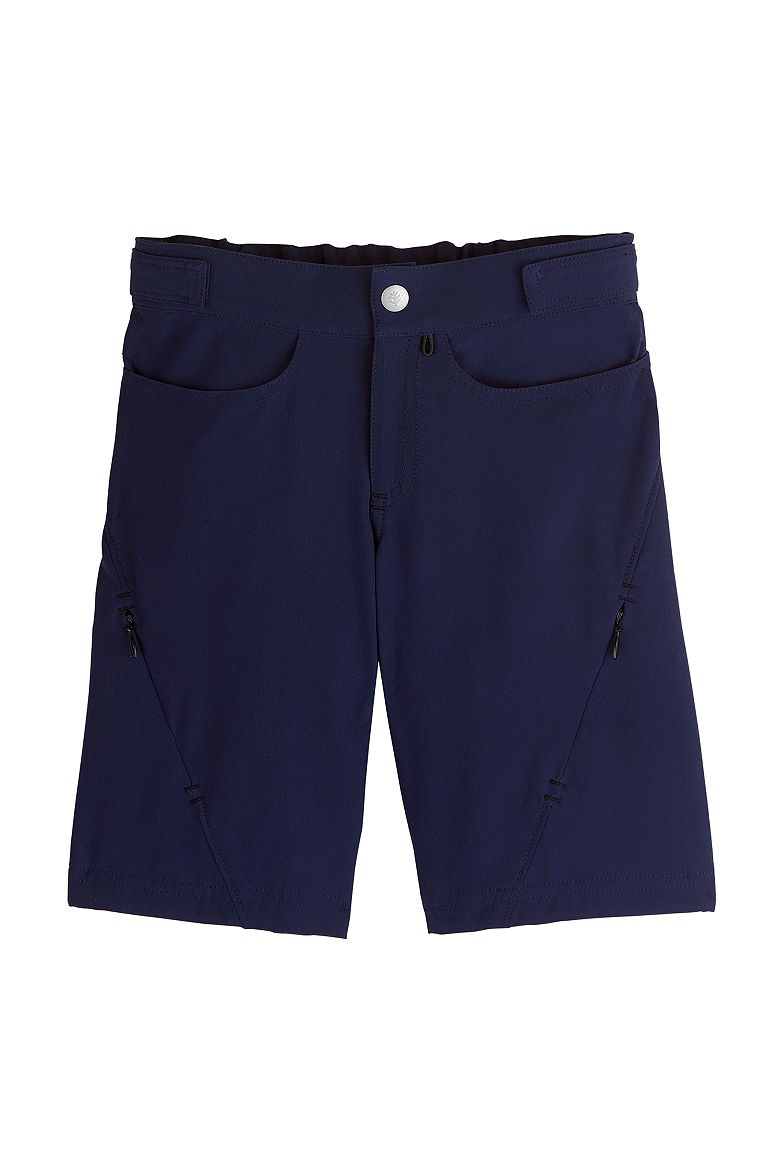 0e386b4439 Boy's Tech Swim Trunks UPF 50+: Sun Protective Clothing - Coolibar : Sun  Protective Clothing - Coolibar