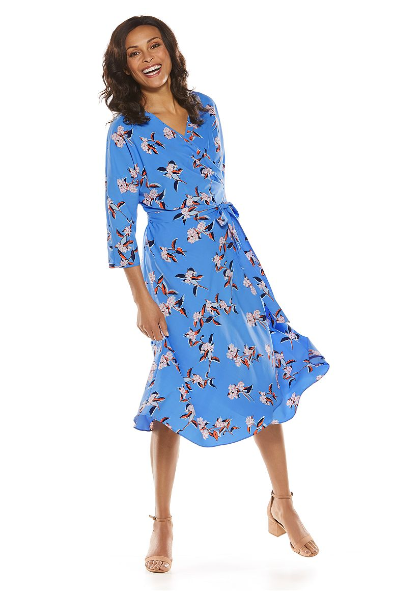 Women's Summer Wrap Dress UPF 50+