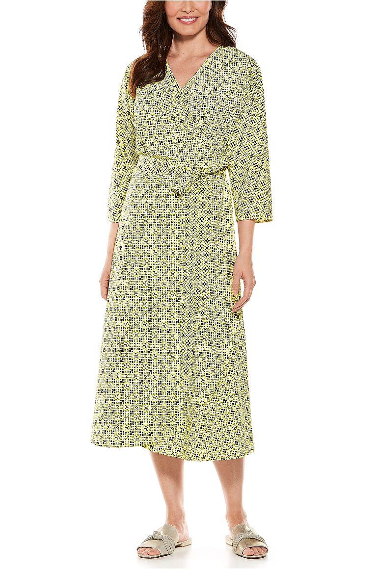 Women's Mila Wrap Dress UPF 50+