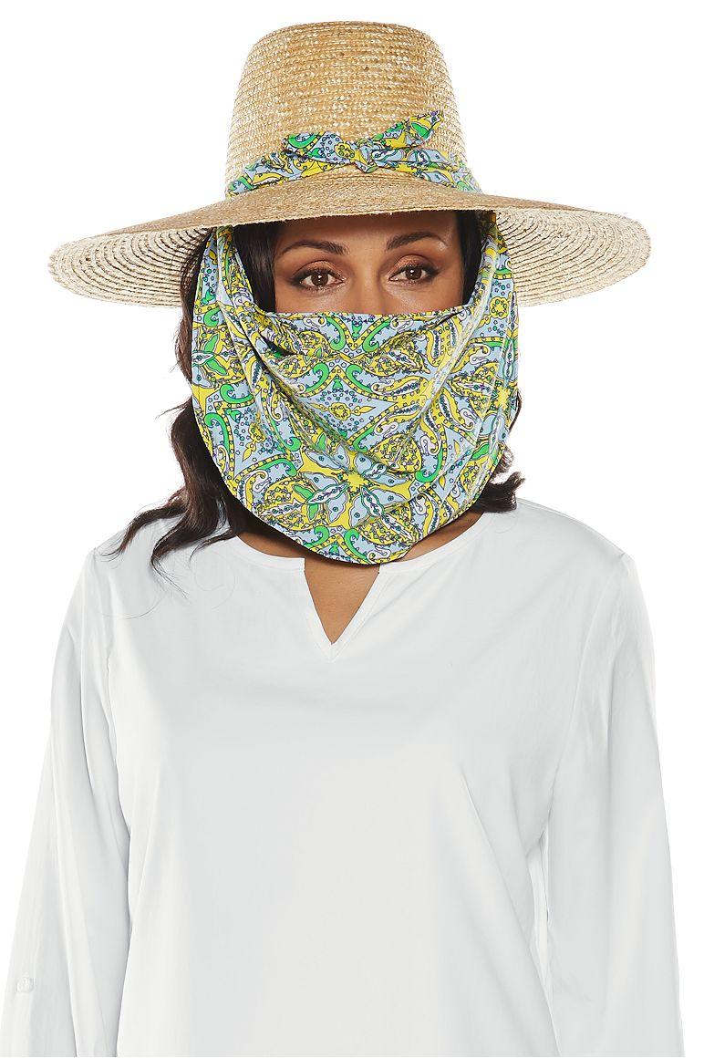 Women s Convertible Scarf Sun Hat UPF 50+  Sun Protective Clothing ... 25d2ab2dcea