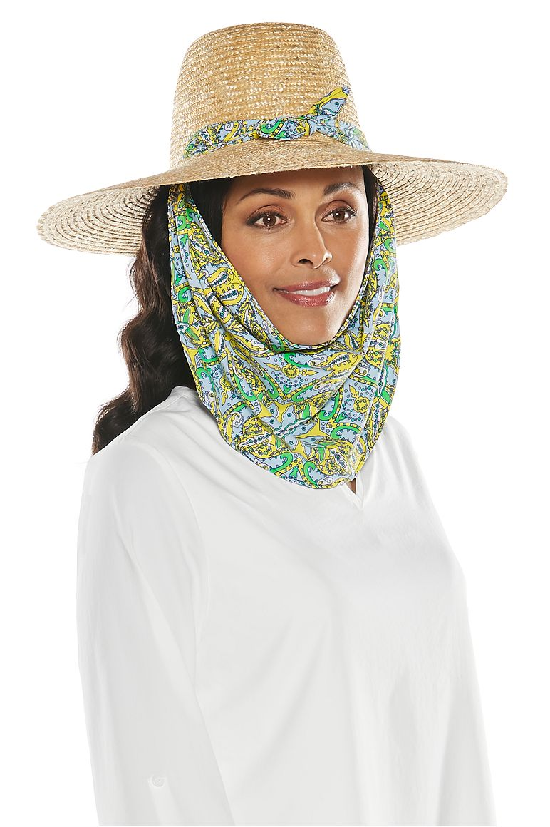Women's Convertible Scarf Sun Hat UPF 50+