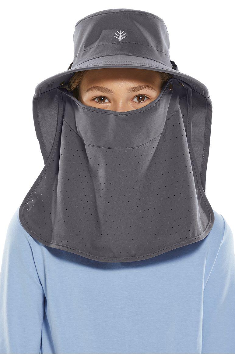 Ultra Sun Hat Carbon L/XL Solid
