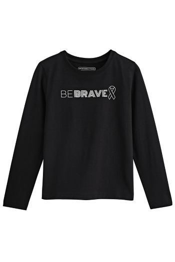Kid's Be Brave T-Shirt UPF 50+
