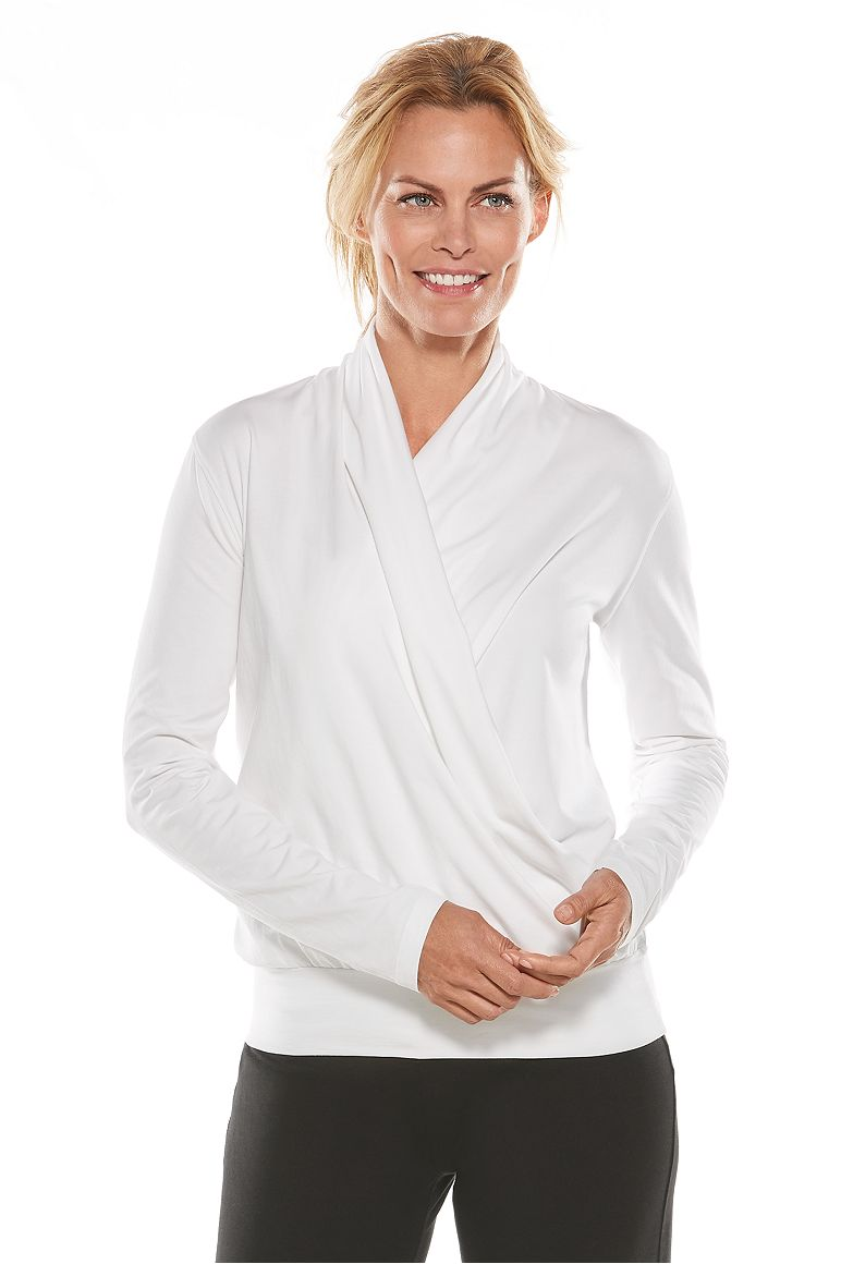 Women's Wrap Top UPF 50+