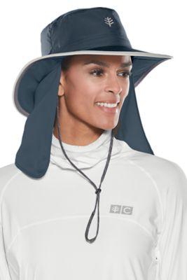 Women's Convertible Boating Hat UPF 50+