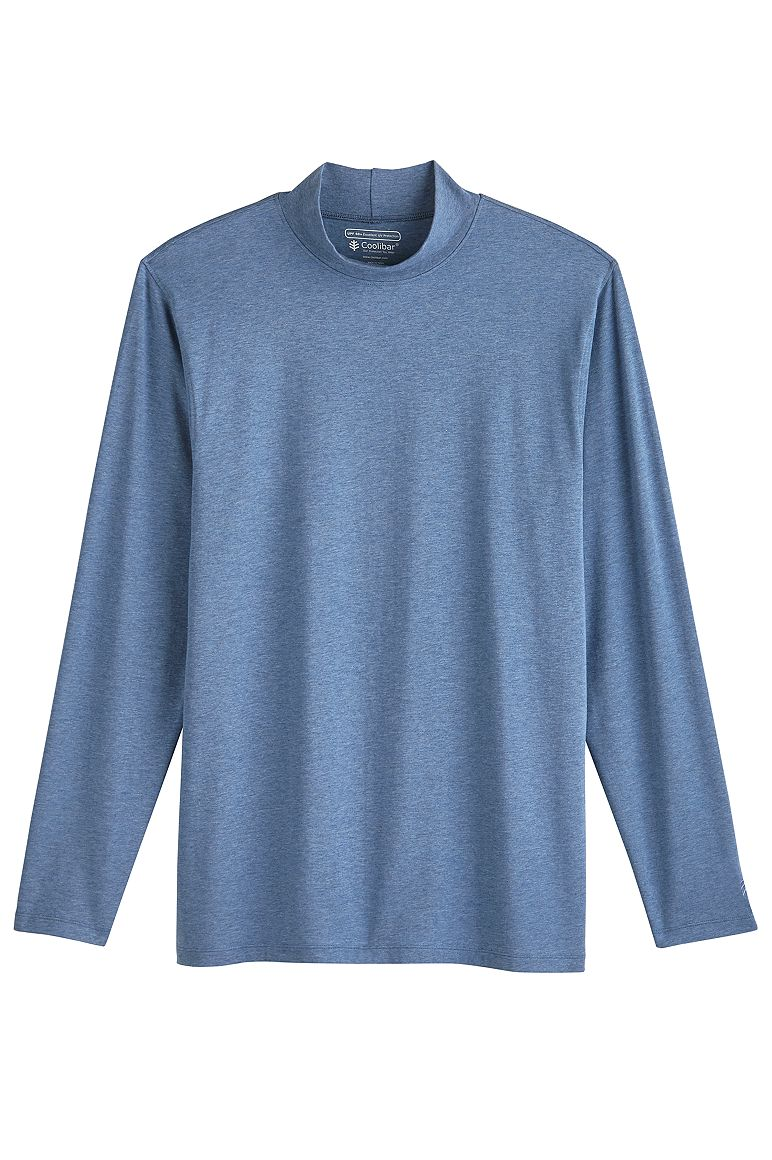 Men's Mulford Mock Neck Tee UPF 50+