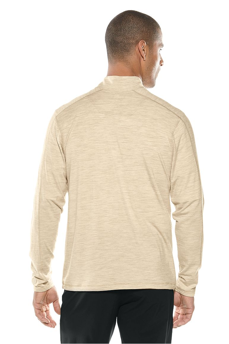 Men's Helm Merino Quarter-Zip UPF 50+