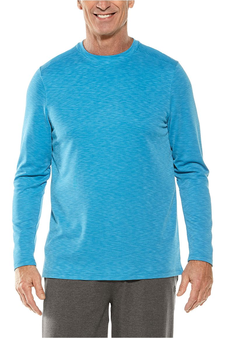 Men's Long Sleeve Baja Crew T-Shirt UPF 50+