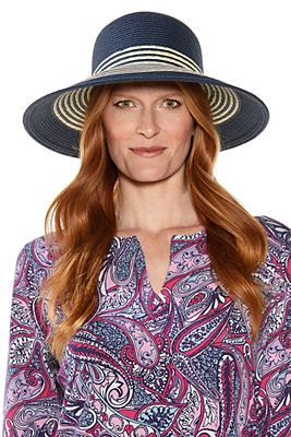Women's Nova Nautical Cloche Hat UPF 50+