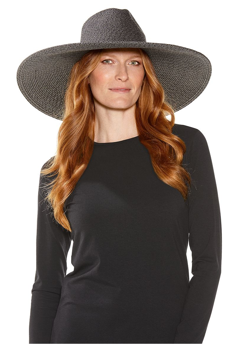 Women's Lauren Wide Brim Fedora UPF 50+